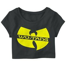 Wu-Tang Clan Dope New hip hop music Wome's Girl's Crop Top New Hipster Shirt