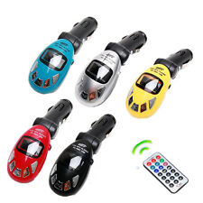 Wireless Car MP3 Player FM Transmitter USB Drive/SD/MMC Slot +Remote+Audio Cable