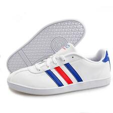 Adidas Neo casual white lace up synthetic trainers Size 4-5.5 Q38794 (B Grade)