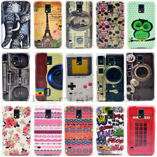 For Samsung Galaxy S5 i9600 HARD HARD Protector Case Phone Cover Accessory Skin