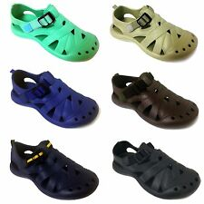Women's Sandals Clogs Velcro Water Flip flops Slippers Shoes Garden Beach Sizes