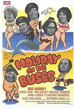 56 Vintage Movie Art Poster   Holiday On The Buses   *FREE POSTERS