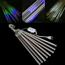 30CM / 50CM Meteor Shower Rain 8 Tubes LED Light for Xmas Wedding Garden Outdoor