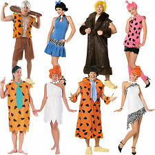 Flintstones dressing up outfit adult costume Bamm-Bamm Fred Wilma Pebbles Barney