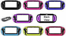 For PSP VITA Aluminum Plated Hard Case Cover Shell Protector MANY COLORS