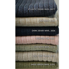 Knitted Marl Jersey Fabric, Dress Making Stretch Rib Knit Material, By The Yard