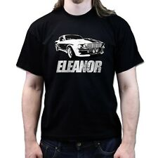 GT500 Eleanor Gone in 60 Seconds Retro T Shirt P546