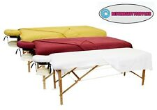 3 Pieces Set Pure Quality Cotton SPA Therapy Massage Tables Flannel Sheets Cover