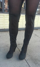 """Jeffrey Campbell Knee-high Boots! """"Miss""""! ON SALE"""