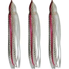"5.5"" to 8.5"" Octopus Squid Replacement Skirt - Shad  - 3 Pack"
