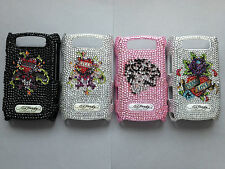 GENUINE ED HARDY BLING BACK CASE COVER FOR BLACKBERRY BOLD 9700 9780 - 4 DESIGNS