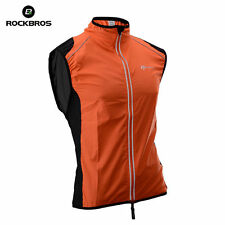 Tour de France Cycling Vest Wind Vest Windvest Sleeveless Orange