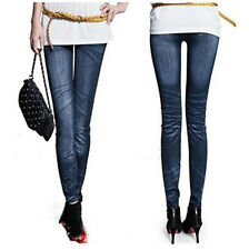 Women Denim High Waist Pants Stretch Sexy Pencil Slim Fit Skinny Jeans Trousers