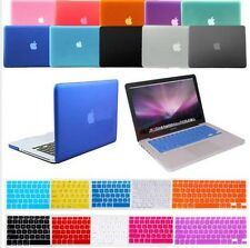 Matte Hard Case Keyboard Cover Screen Protector F Mac Air 11 13 Pro 13 15 Retina