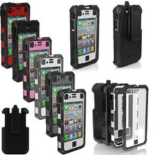 For Apple iPhone 4 4G 4S Ballistic Hard Core (HC) Series Built-in Case Cover