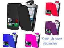 Magnetic PU Flip Leather Mobile Phone Stand Case Cover For HUAWEI Ascend Y300