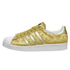 """Adidas Superstar 80s CNY """"Year of The Horse"""" Sneakers New, Metallic Gold D65867"""