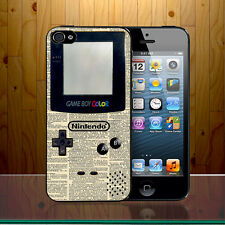Gameboy Colour Nintendo Retro Vintage Dictionary Classical Hard Phone Case Cover