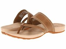 NWB Timberland Earthkeepers Lola Bay Wom's Sandals Premium Leather Flip-Flops -