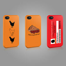 ORANGE IS THE NEW BLACK PIPER CHAPMAN CASE HARD COVER FOR iPHONE OR SAMSUNG