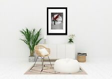 Salvation Cross with Wings, and Moon Signed Matted Picture ART PRINT A624