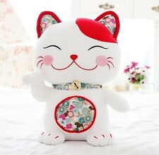1pc 18cm Cute Cartoon Japan Style  Fortune Plush Cat Doll Cat Toy  Birthday Gift