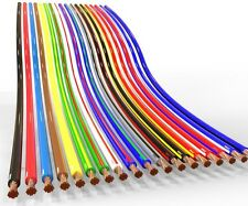 AUPROTEC 100m automotive 1.5 mm² thinwall electrical auto cable wire 31 colours