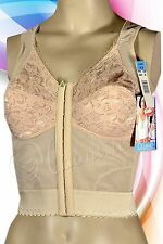 Gelmart FRONT CLOSURE Long Line Posture Bra Back Support 34 - 48 B C D DD 8287