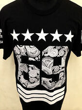 New 69 paisley bandana tyga hip hop gangsta street wear swag t-shirt S M L XL