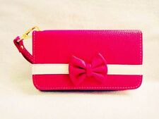 New 3D Cute Bowknot BOW girl Wristlet LEATHER WALLET POUCH PHONE CASE COVER 18