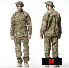 Military BDU combat uniform shirt & pants Army Multicam Camouflage suit sets