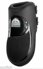 VEREDUS CARBON GEL VENTO FETLOCK BOOTS - BLACK - WORLDWIDE SHIPPING