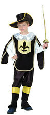 CHILD #MUSKETEER BOY KNIGHT COSTUME MEDIEVAL & GOTHIC FANCY DRESS ALL SIZES