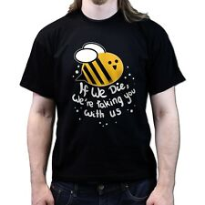 Save the Bees Beekeepers Association T-shirt P653