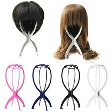 Foldable Plastic Stable Durable Wig Hair Head Hat Cap Holder Stand Display Tool