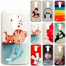 LG Optimus G3 Colored Pattern Hard Plastic Cover Case Skin +Film
