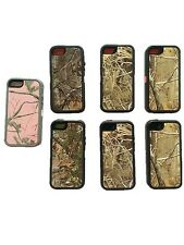 New Defender Protective Case Camo w/Belt Clip & Screen Protector For iPhone 5 5S