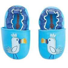 KOALA BABY LEATHER TOUCAN SLIPPERS BY TOYS R US Sizes 6-18 months