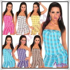 Women's Overall Sexy Ladies New Summer Fashion Jumpsuit ONE SIZE UK 8,10,12