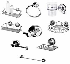 BLUE CANYON STAINLESS STEEL BATHROOM GECKO SUCTION LOCK RANGE NO RUSTING