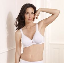 Playtex Bra Absolute Comfort T-shirt Wired White Or Skin Sizes 34-40, B - E