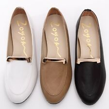BN Womens Comfy Padded Casual Walking Work Flats Shoes Loafers Moccasins Oxfords