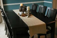 Shabby-Rustic-Chic Natural Burlap Fabric Table Runners 14 inches wide Wedding