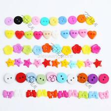 100pcs Lots Style Lots Color Buttons Sewing DIY Craft Decor Clothing Accessories