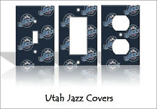 Utah Jazz Light Switch Covers Basketball NBA Home Decor Outlet