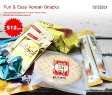 daldabox, Fun & Easy Korean Snacks with daldabox, korean snack