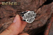 New Style Titanium Steel Ring For Harley Davidson Special Collection Ring