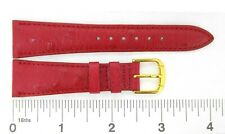 Watchband Stylecraft OSTRICH GRAIN ON PIGSKIN leather various colors sizes strap