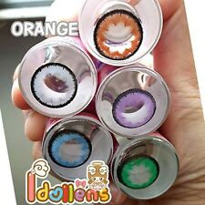 Dreamcolor1, Pretty, KittyKawaii, Barbie Orange  Contact Lens Free Case