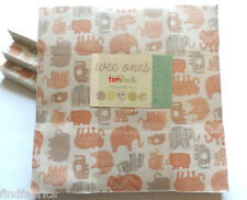 "Wee Ones Flannels by Moda 100%Cotton • Layer Cakes 10"" x  10"" Squares of Fabrics"